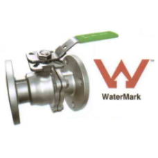 Stainless Steel Two Piece Flanged Ball Valve ANSI/TD/TE