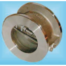 STAINLESS STEEL DUO CHECK VALVE