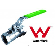 Stainless Steel One Piece Ball Valve BSP